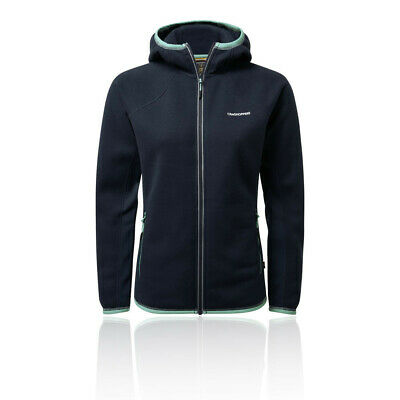 Craghoppers Womens Mannix Fleece Jacket Top - Navy Blue Sports Outdoors Full Zip • 46.74£