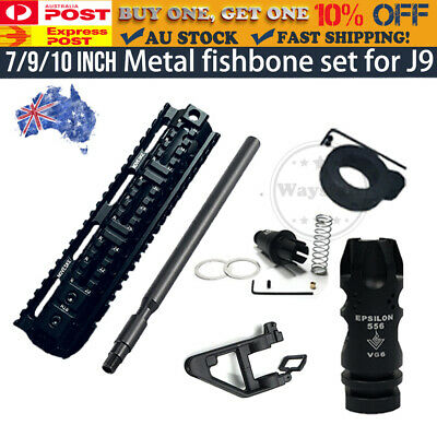 AU8.95 • Buy COMP Metal Fishbone Handguard Upgrade Triangle For J9 Gen9 M4A1 Gel Ball Blaster