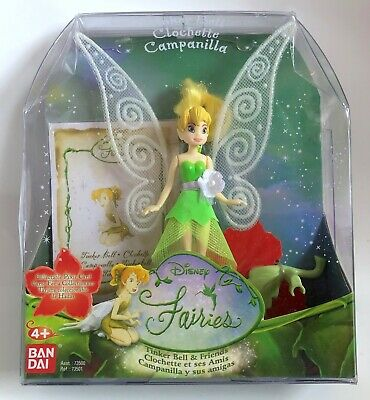 *NEW* Disney Peter Pan Tinkerbell Fairies Tinker Bell 9cm Doll Figure Toy Gifts • 19.99£