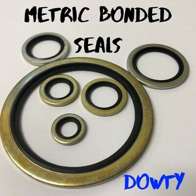 £1.64 • Buy Bonded Seals (Dowty Seal) Self Centering Hydraulic Oil Seal Washer Metric