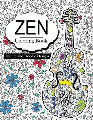 Zen Coloring Books: Flowers Floral And Doodle Design Book For Girls 2017 (Cut<| • 8.29£