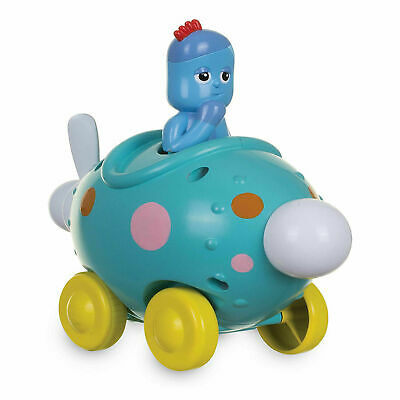 In The Night Garden Iggle Piggle Pinky Ponk Press Go Vehicle Toy • 12.69£