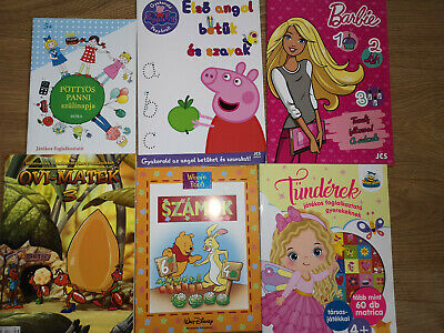 Hungarian Childrens Activity Book Kids Colouring,Learning Numbers,magyar • 9.99£