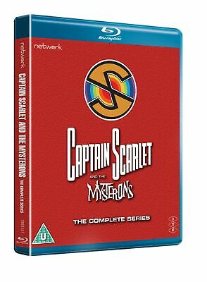 Captain Scarlet And The Mysterons: The Complete Series (Box Set) [Blu-ray] • 26.99£