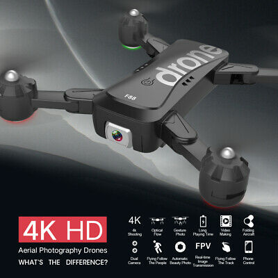 F88 RC Drone With Dual Camera 4K Image Follow Optical Flow Positioning APP I4T8 • 50.15£