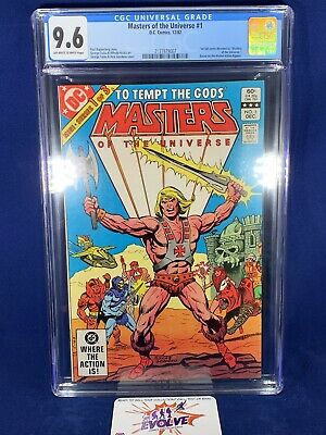 $200 • Buy Masters Of The Universe 1 DC 1982 CGC 9.6 OW/W 1st Full Comic Devoted To MOTU