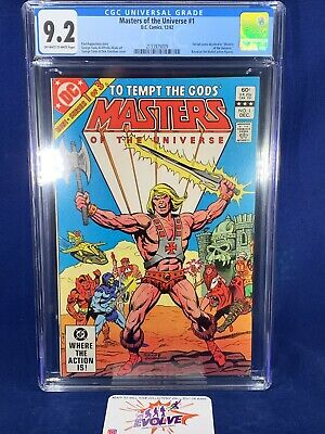 $115 • Buy Masters Of The Universe 1 DC 1982 CGC 9.2 OW/W 1st Full Comic Devoted To MOTU
