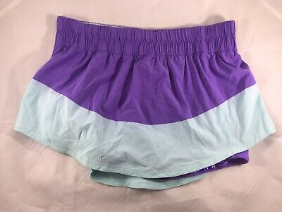$ CDN60.31 • Buy LULULEMON Run: Breeze By Skirt Power Purple/Aquamarine  Size 10 Rare!