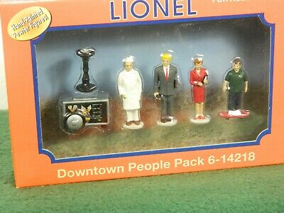 $29.99 • Buy Lionel O Scale #6-14218 Downtown People Metal People Pack Painted For Trains Nib