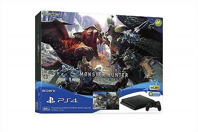 AU901.91 • Buy CUHJ-10026 PS4 Playstation 4 MONSTER HUNTER WORLD Value Pack F/S From JAPAN