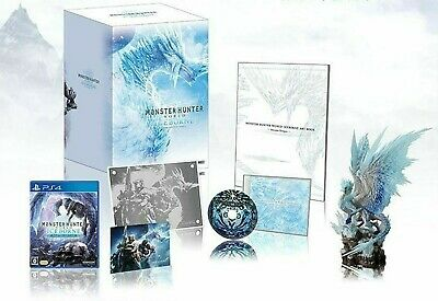 AU419.18 • Buy CAPCOM MONSTER HUNTER WORLD ICEBOR Master Edition Collector's Package PS4