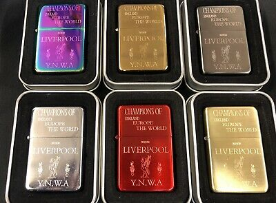 £15 • Buy Engraved Liverpool Champions Lighter