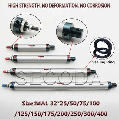 NEW MAL32 Single Rod Double Acting Mini Pneumatic Air Cylinder • 14.79£