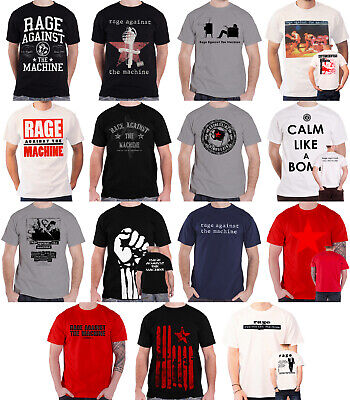 Official Rage Against The Machine T Shirt Bulls On Parade Band Logo Wont Do New • 13.95£