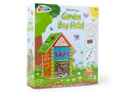 £8.95 • Buy Make & Paint Your Own Garden Bug & Insect Hotel Building Outdoor Educational Toy