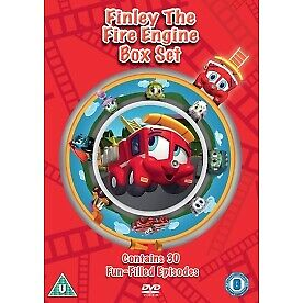 Finley The Fire Engine Vols. 1-3 DVD • 10.49£