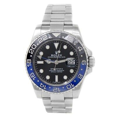 $ CDN20010.89 • Buy Rolex GMT-Master II  Batman  Stainless Steel Auto Black Men's Watch 116710BLNR