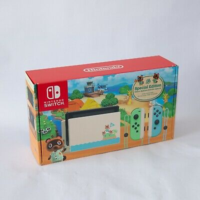 $ CDN590.46 • Buy Nintendo Switch Animal Crossing Special Edition Console Tablet ONLY