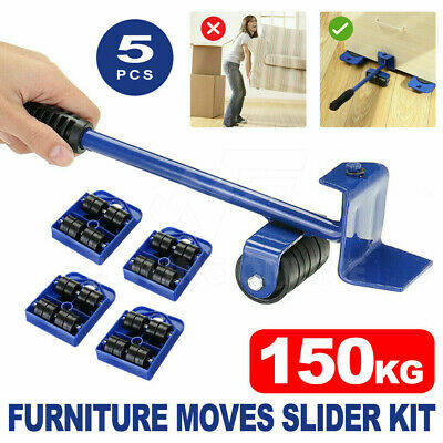 AU19.92 • Buy 5x Furniture Lifter Moves Slider Home Moving Wheels Mover Kit Lifting System