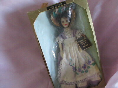 Vintage Rexard 1960's Miss Toulouse Doll Boxed With Tags Gold Box • 9.95£