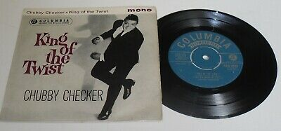 Chubby Checker / King Of The Twist / 7  45 Ep Free P&p Uk • 2.99£
