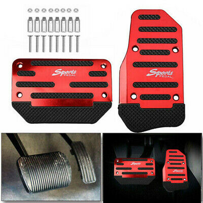 AU14.65 • Buy Universal Car Non-Slip Automatic Pedal Brake Foot Treadle Cover Red Accessories