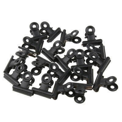 30 PCS 50mm Bulldog Clips Metal Good Grip Clip For Document Picture Bag • 9.17£