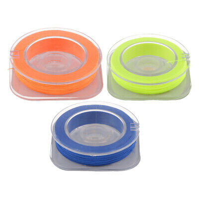 3pcs Cotton Whipping Wrapping Thread Fix Line For Fishing Rod Guides Rings • 5.10£
