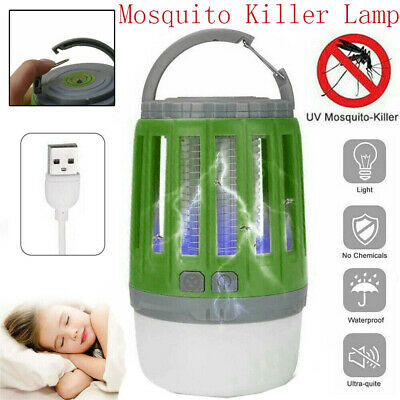 Electric Mosquito Insect Killer UV Light Lamp Fly Bug Zapper Trap Catcher Lamp • 8.49£