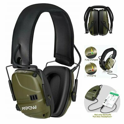 MPOW Electronic Ear Defenders Headphones Shooting Hunting Ear Muffs Protection • 29.99£