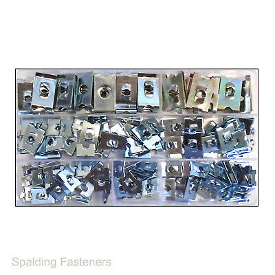 £20.24 • Buy Speed Fasteners Zinc Plated BZP (J Clips) Panel Car Clips No8, No10, No12, No14
