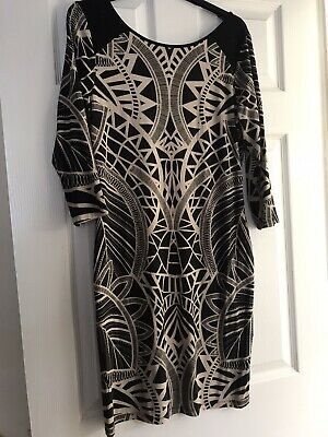 Aztec Print Dress Size S Fits Up To A Size 10 Uk • 4£