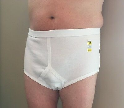 Mens Y Front Incontinence Pants • 8.29£