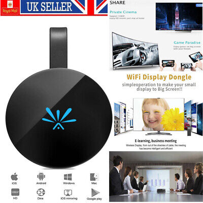 2.4G WiFi G6 Display Dongle HD 1080P For Miracast DLNA Airplay Netflix Youtube • 14.49£