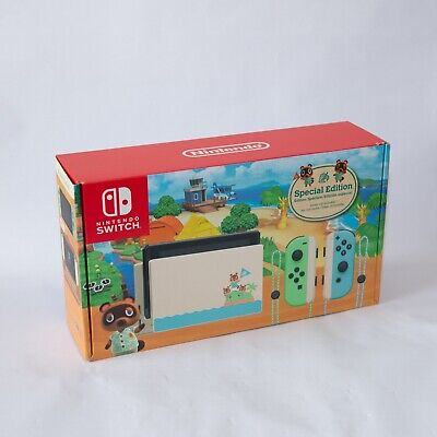 $ CDN410.56 • Buy Nintendo Switch Animal Crossing Special Edition Dock Power Cord HDMI Cable ONLY!