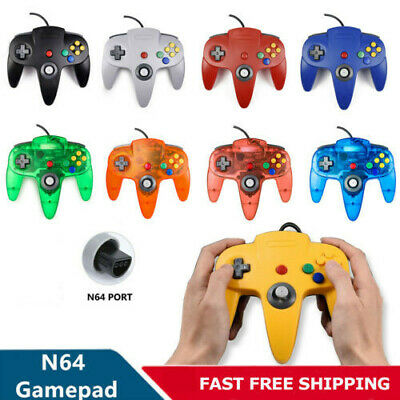 $ CDN18.15 • Buy For N64 Controller Joystick Console Games Long Wired Controller Gamepad Joypad