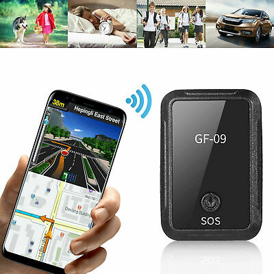 GF-09 Magnetic GPS Real Time Tracker Car Anti-theft Spy Locator Tracking Device • 15.88£