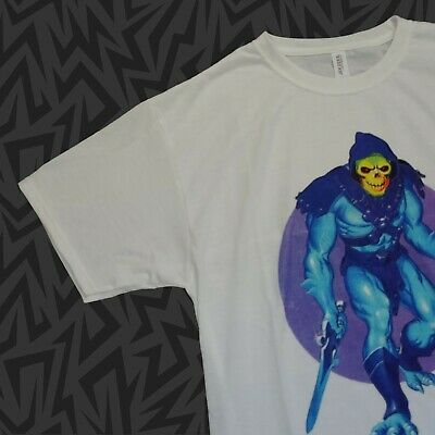 $24 • Buy SKELETOR T-Shirt MASTERS OF THE UNIVERSE 80s Vtg Figure Staff Sword PICK SIZE