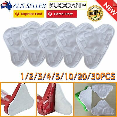 AU14.99 • Buy 1-20X H2O Steam Mop Pads Replacement X5 Steam Cleaner Washable Microfibre Cloth