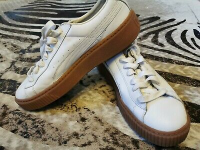 AU48 • Buy White Leather Puma Fenty Sneakers Trainers UK7 EUR 40.5