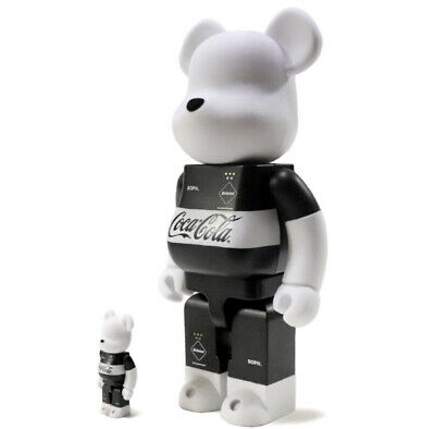 $372 • Buy Medicom BE@RBRICK F.C.Real Bristol COCA-COLA 100 400 Bearbrick F.C.R.B Limited