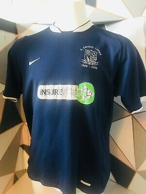 Southend United Football Shirt 100 Years Jersey 2006 07 Nike Home Top Mens Large • 19.99£
