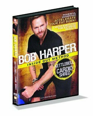 GoFit Bob Harper Kettlebell Cardio Shred DVD Incredible Value And Free Shipping! • 29.99£