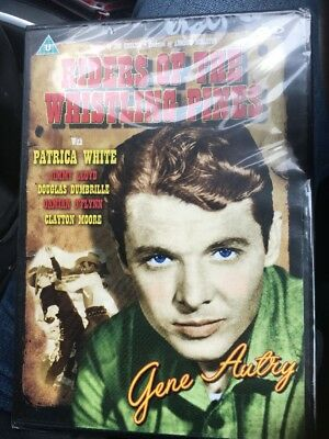 Riders Of The Whistling Pines.Gene Autry.DVD NEW & SEALED • 2.99£
