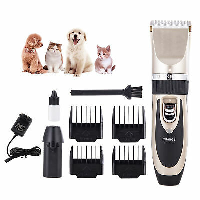 Electric Pet Dog Clipper Shaver Grooming Trimmer Professional Animal Hair Kit • 7.98£