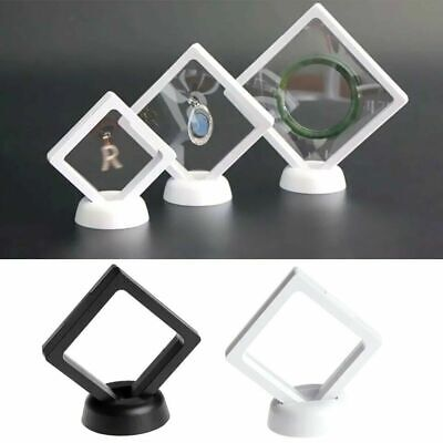 AU10.99 • Buy Artefacts Stand Holder Box Suspended Floating Jewellery Display Case Coins Gems