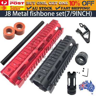 AU8.95 • Buy COMP Metal Fishbone Handguard Upgrade Triangle For J8 Gen8 M4A1 Gel Ball Blaster
