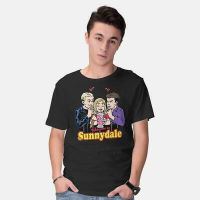 £12.09 • Buy Welcome To Sunnydale Buffy The Vampire Slayer Funny Archie Comics Black T-Shirt