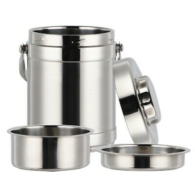 AU25.99 • Buy Stainless Steel Thermos Food Container Lunch Box Large Capacity School Adul F8V8