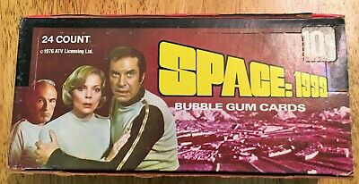 $19.99 • Buy Space 1999 Donruss 1976 Full Box Of Trading Cards With 24 Unopened Wax Packs
